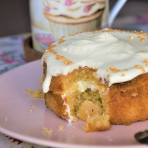 Citrus cake {For two & Gluten-free}