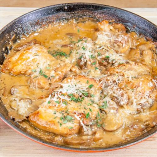 Creamy Sherry and Thyme Chicken
