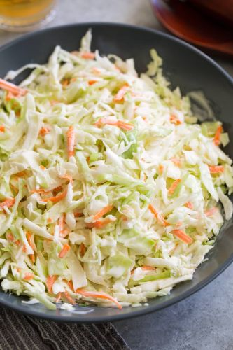 Coleslaw Recipe {Only 4 Ingredients!}