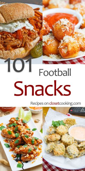 101 Football Snack Recipes
