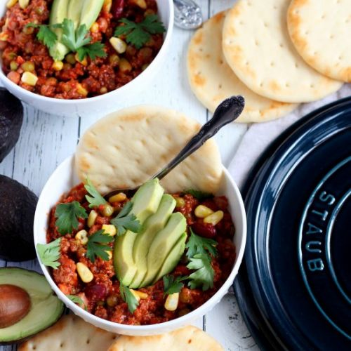 Dutch Oven Chili con Carne