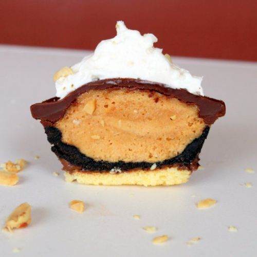 Peanut Butter Oreo Mini Pie