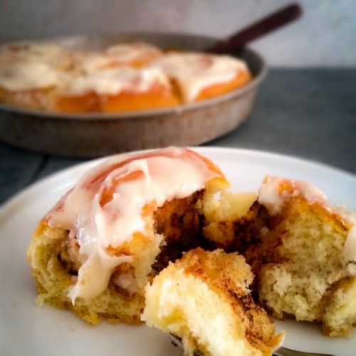 Cinnamon Rolls w/Cream Cheese Frosting