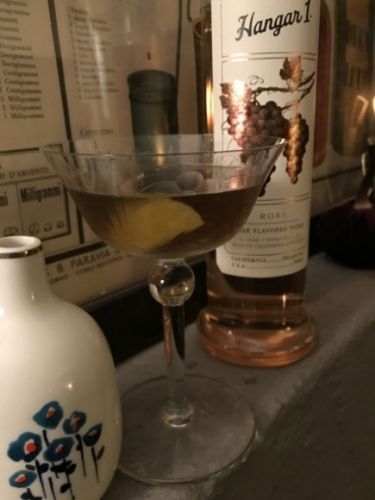 What I'm Drinking: One More Look with Hangar 1 Rosé Vodka