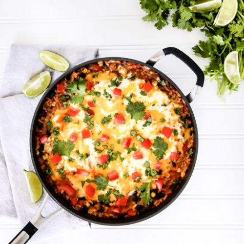 One-Pot Mexican Rice Casserole
