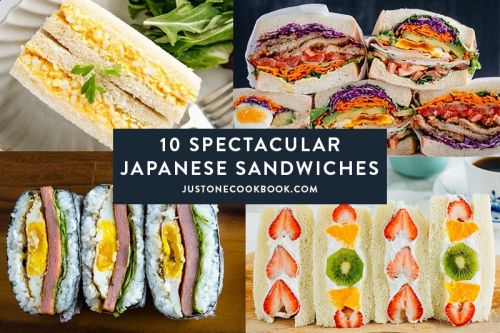 10 Spectacular Japanese Sandwiches To Make This Summer and Beyond
