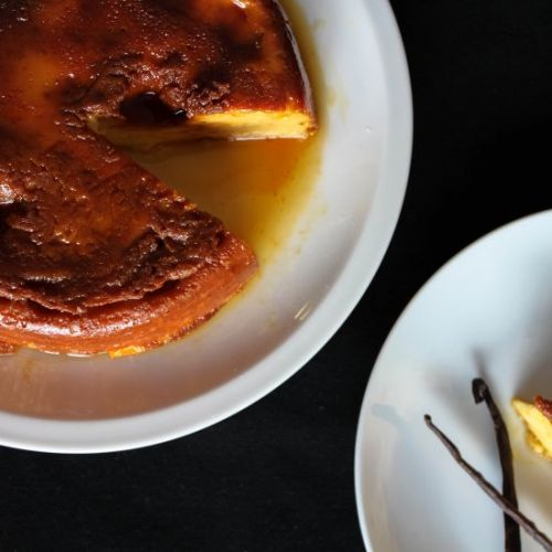 Authentic Cuban Flan