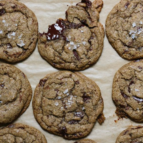 12 Days of Cookies: Apt. 2B Baking Co.'s Brown Butter Buckwheat Chocolate Chunk Cookies