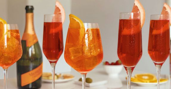 Two Takes on Prosecco Cocktails for Brunch