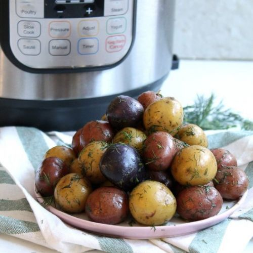 Baby Potatoes With Dill & Butter