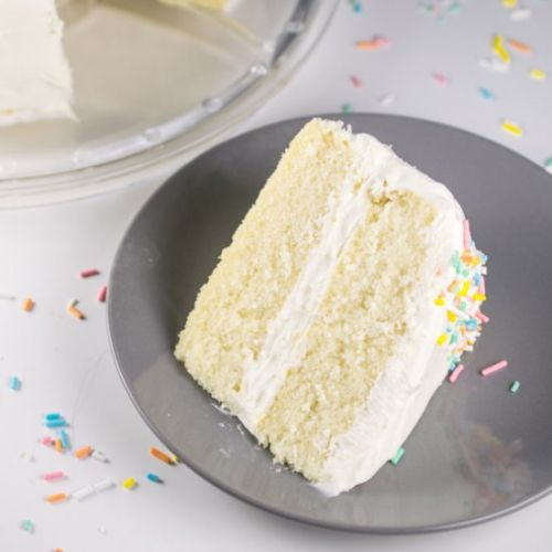 Dreamy Vegan White Cake