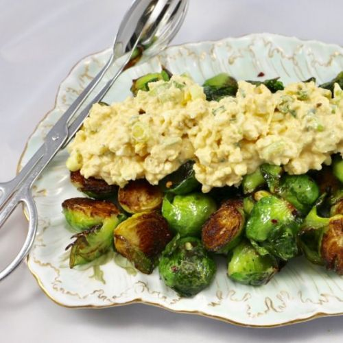 Deviled Brussels Sprout