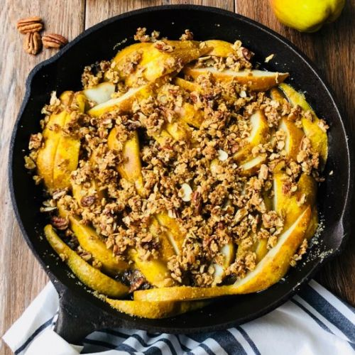 Pear Crisp With Ginger and Pecans