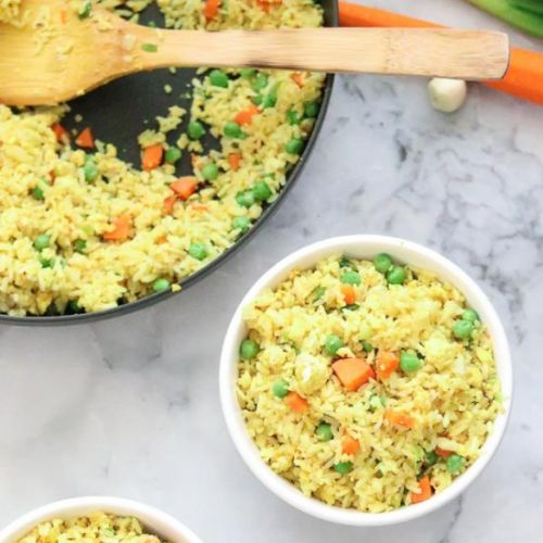 Easy Vegan Fried Rice with Tofu