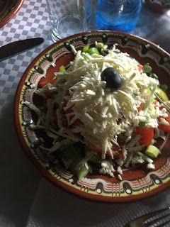Bulgarian Shopska Salad