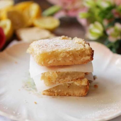Lemon Bars - Small Batch Recipe