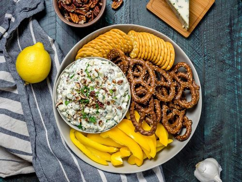 Blue Cheese and Toasted-Pecan Dip
