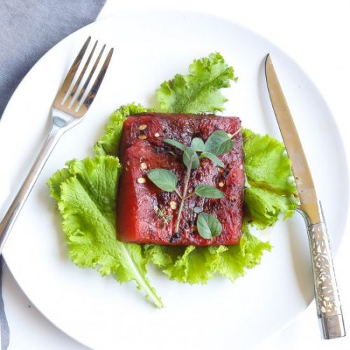 Roasted Watermelon Steak