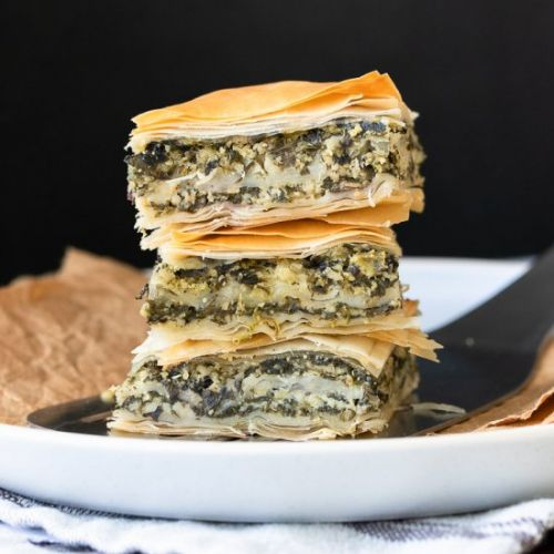 World Best Greek Vegan Spanakopita