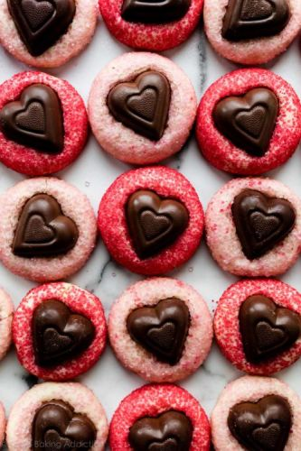 Sparkle Sweetheart Cookies