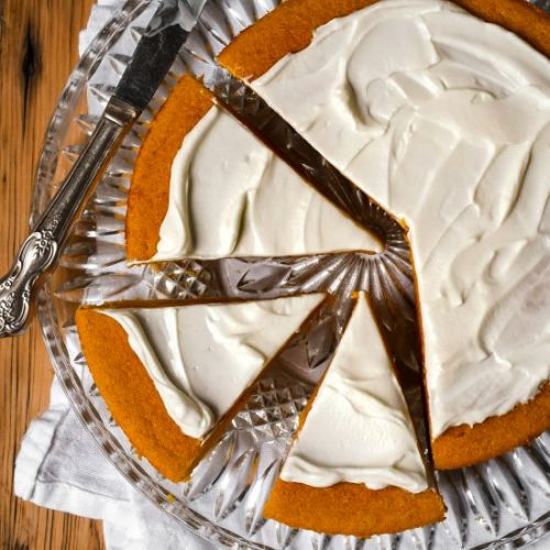 French Corn Pumpkin Pie