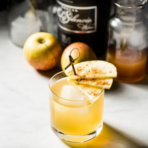 Smoky Apple Mezcal Old Fashioned