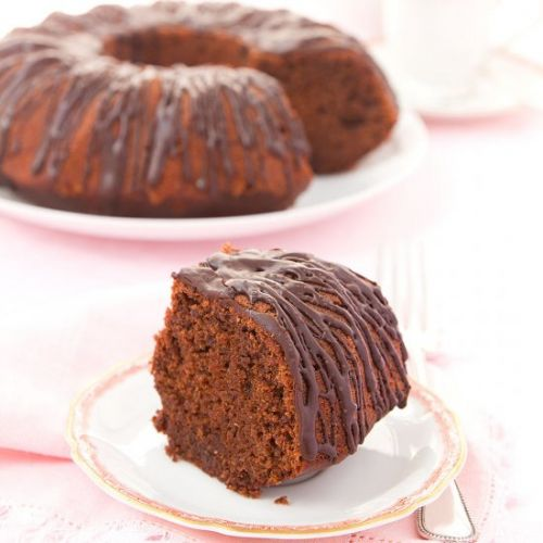 Blender beetroot and chocolate cake