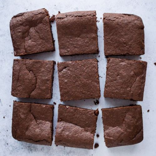 Vegan Mulled Wine Brownies