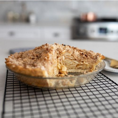 Gluten-free Apple Crumb Pie