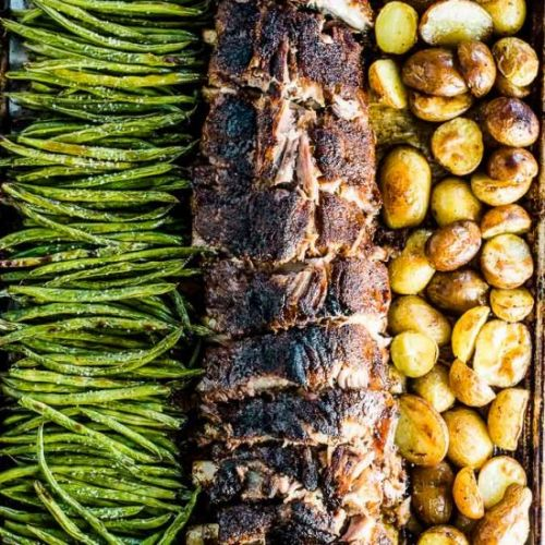 Oven Baked Ribs with Potatoes
