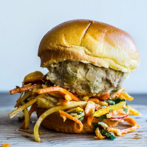 Instant Pot Green Chile Sliders