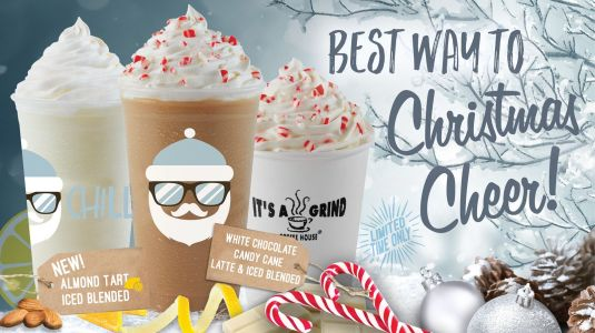 It's A Grind Coffee House Spreads Holiday Cheer with Winter Beverage Offerings