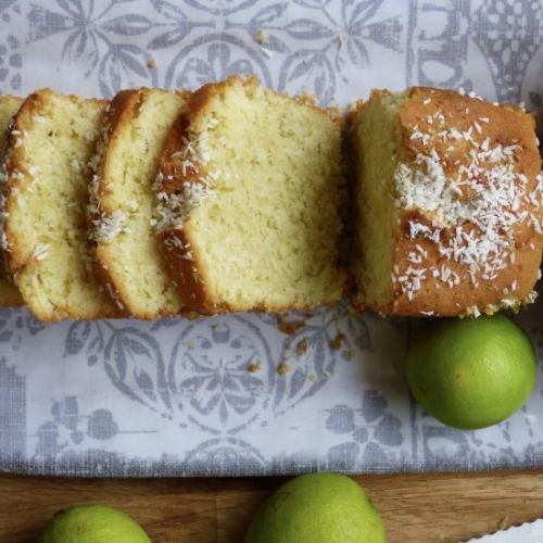 Coconut and Lime Cakes