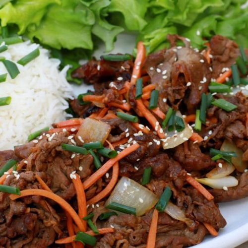 Incredibly Easy Beef Bulgogi