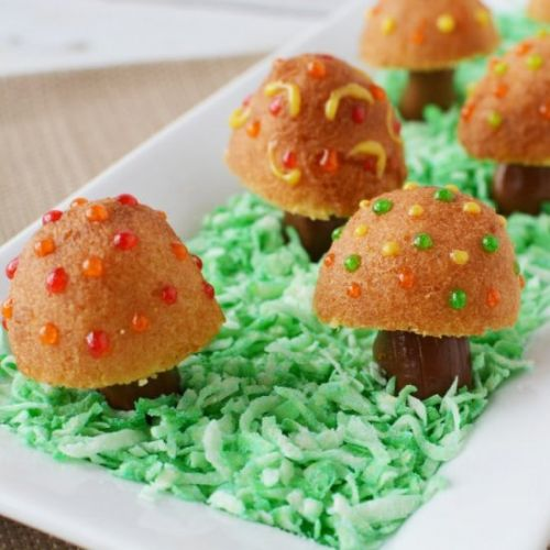 Fairy Toadstool Donuts