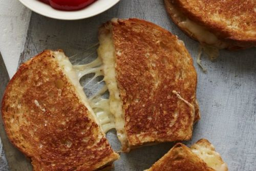 Cheesiest Grilled Cheese