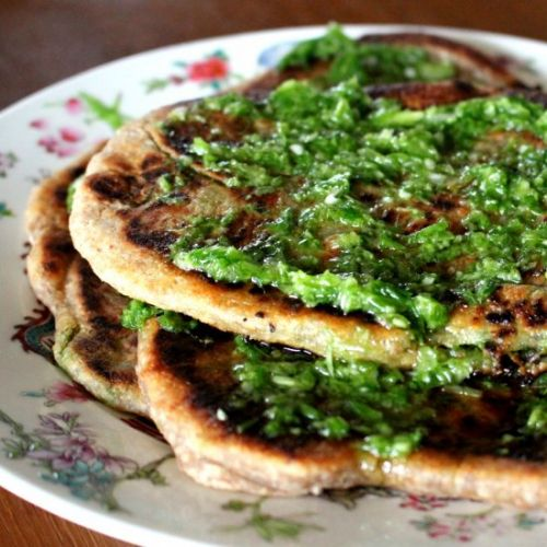 Chinese Spring-Onion Pancakes