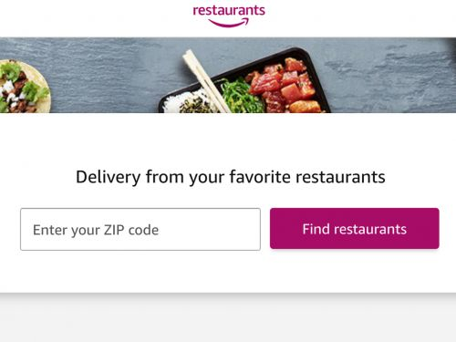 Amazon Is Getting the Hell Out of the Restaurant Delivery Business