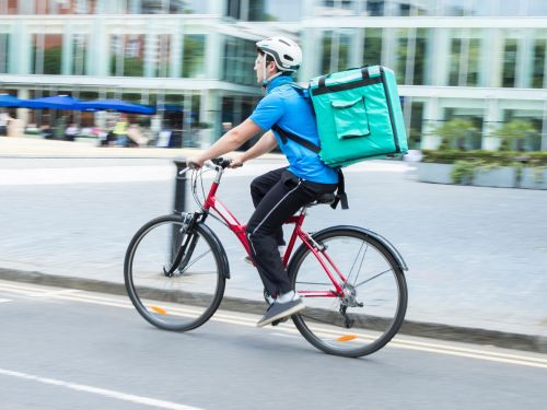 The Future of Food Delivery Just Got Flatter
