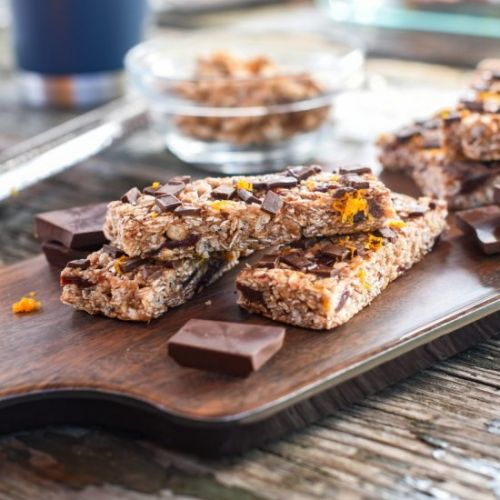 Chocolate Cherry Orange Granola Bar