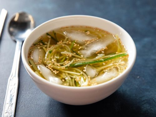 Icy-Cold Korean Cucumber Soup