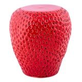 ICYMI, This Strawberry Stool From HomeGoods Is TikTok's Newest Obsession