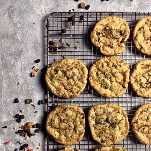 Candy Bar Chocolate Chip Cookies