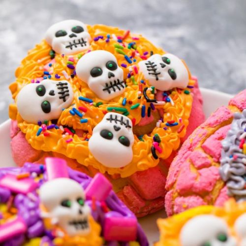Day of the Dead conchas