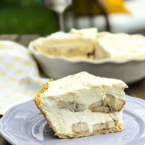 Indulgent Banana Pudding Pie