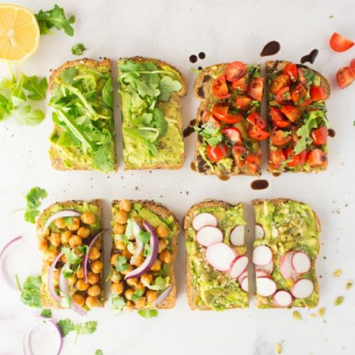 Vegan Avocado Toast - 4 Ways!