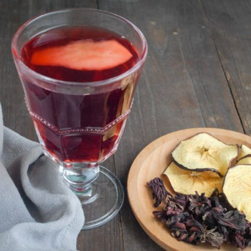 Hibiscus Apple Tea