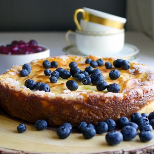 Crustless Custard Tart