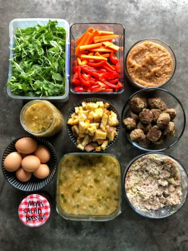 5 Things to Prep on Sunday for Healthy Lunches All Week