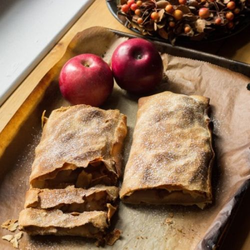 Apple Thyme Strudel